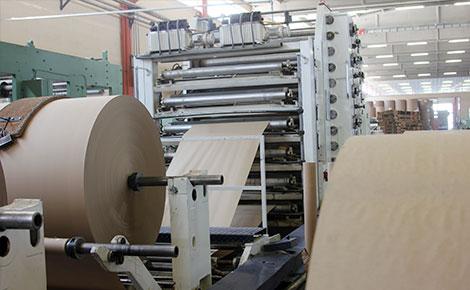 Material para empaque de papel kraft