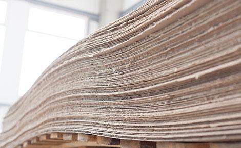 separador de papel kraft